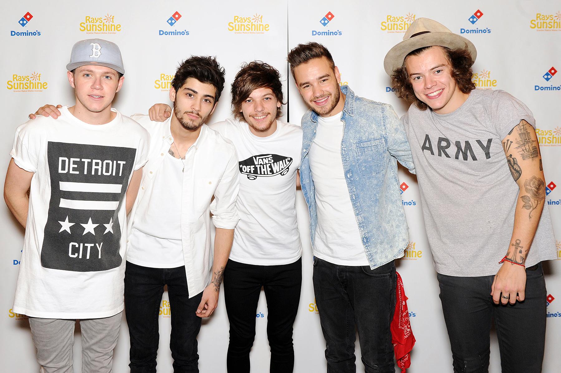 Niall Horan Zayn Malik Louis Tomlinson Liam Payne Harry Styles One Direction