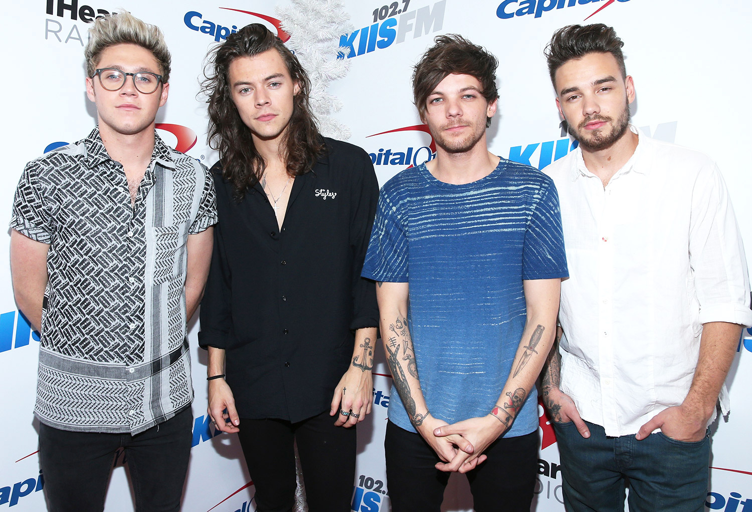 Niall Horan, Harry Styles, Louis Tomlinson and Liam Payne of One Direction