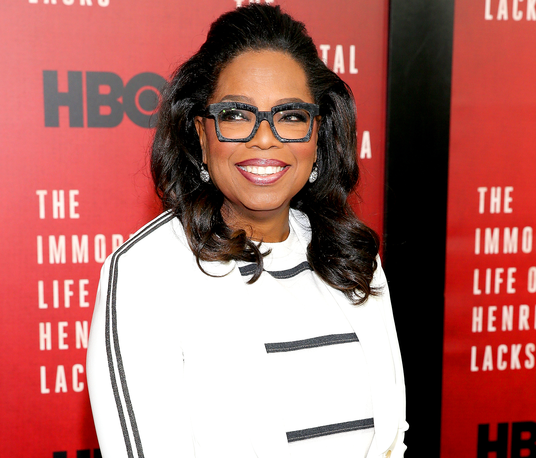 "Oprah Winfrey attends ""The Immortal Life Of Henrietta Lacks"" New York Premiere at SVA Theater on April 18, 2017 in New York City."