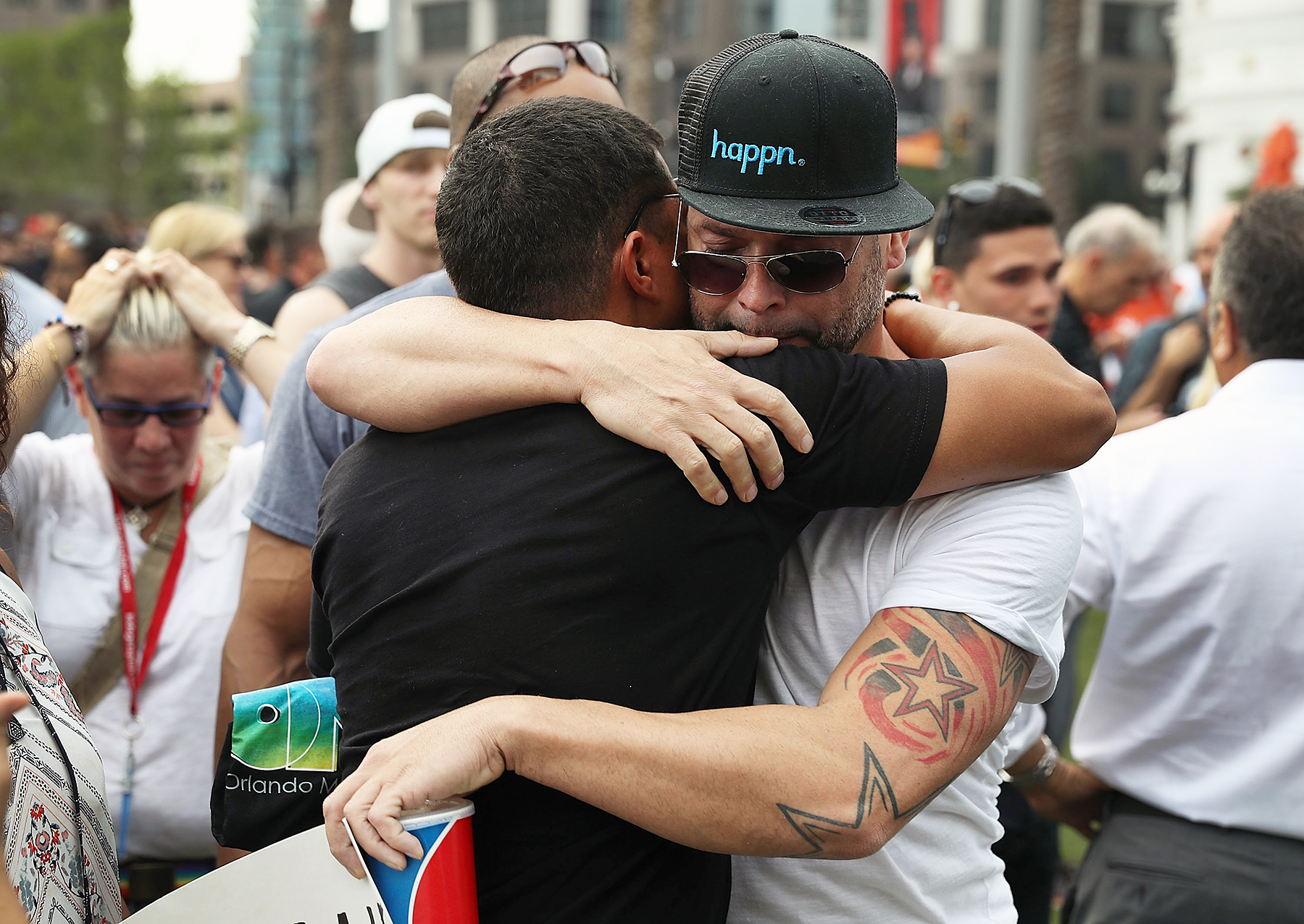 memorial service for Orlando shooting victims