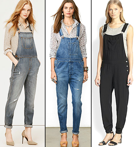 Overalls - Get the Look