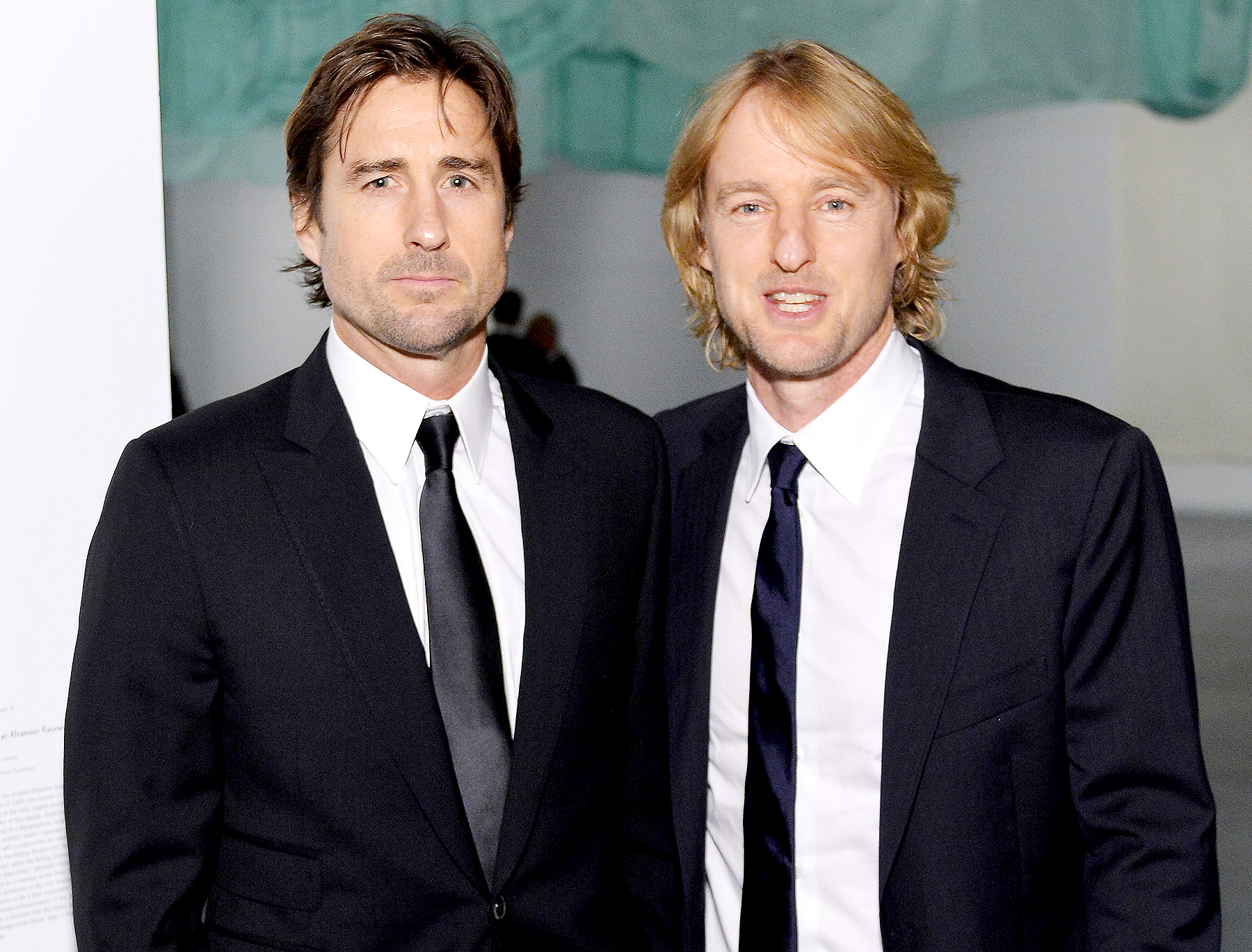 Luke Wilson and Owen Wilson attend the MOCA Gala 2016 at The Geffen Contemporary at MOCA on May 14, 2016 in Los Angeles, California.