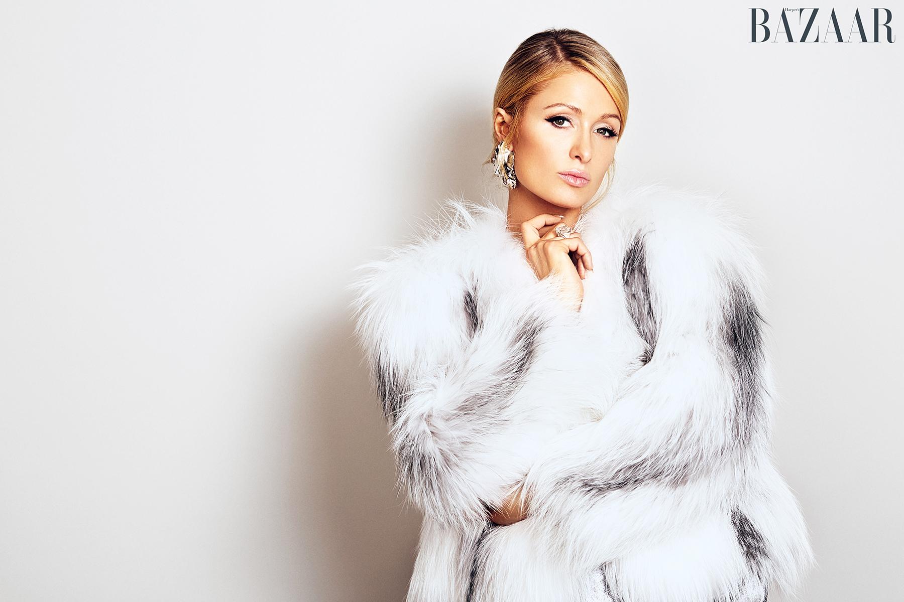 Paris Hilton Harper's Bazaar