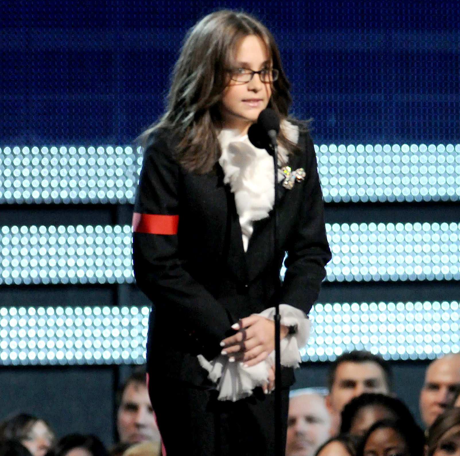 Paris Jackson onstage during the 52nd Annual GRAMMY Awards held at Staples Center on January 31, 2010 in Los Angeles, California.