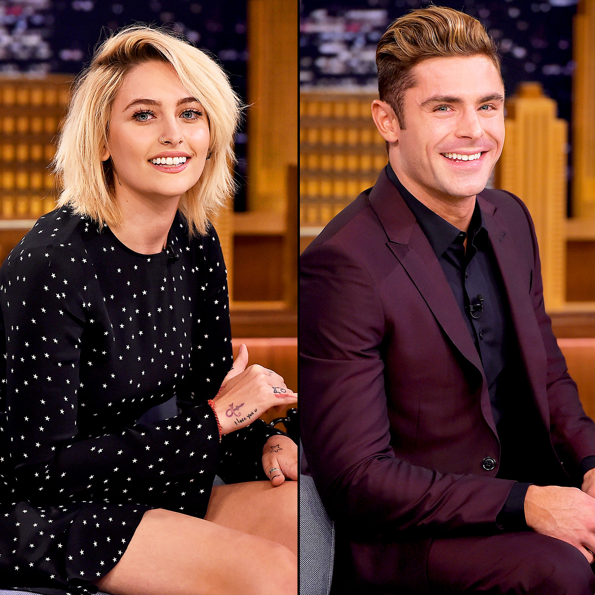 Paris Jackson and Zac Efron