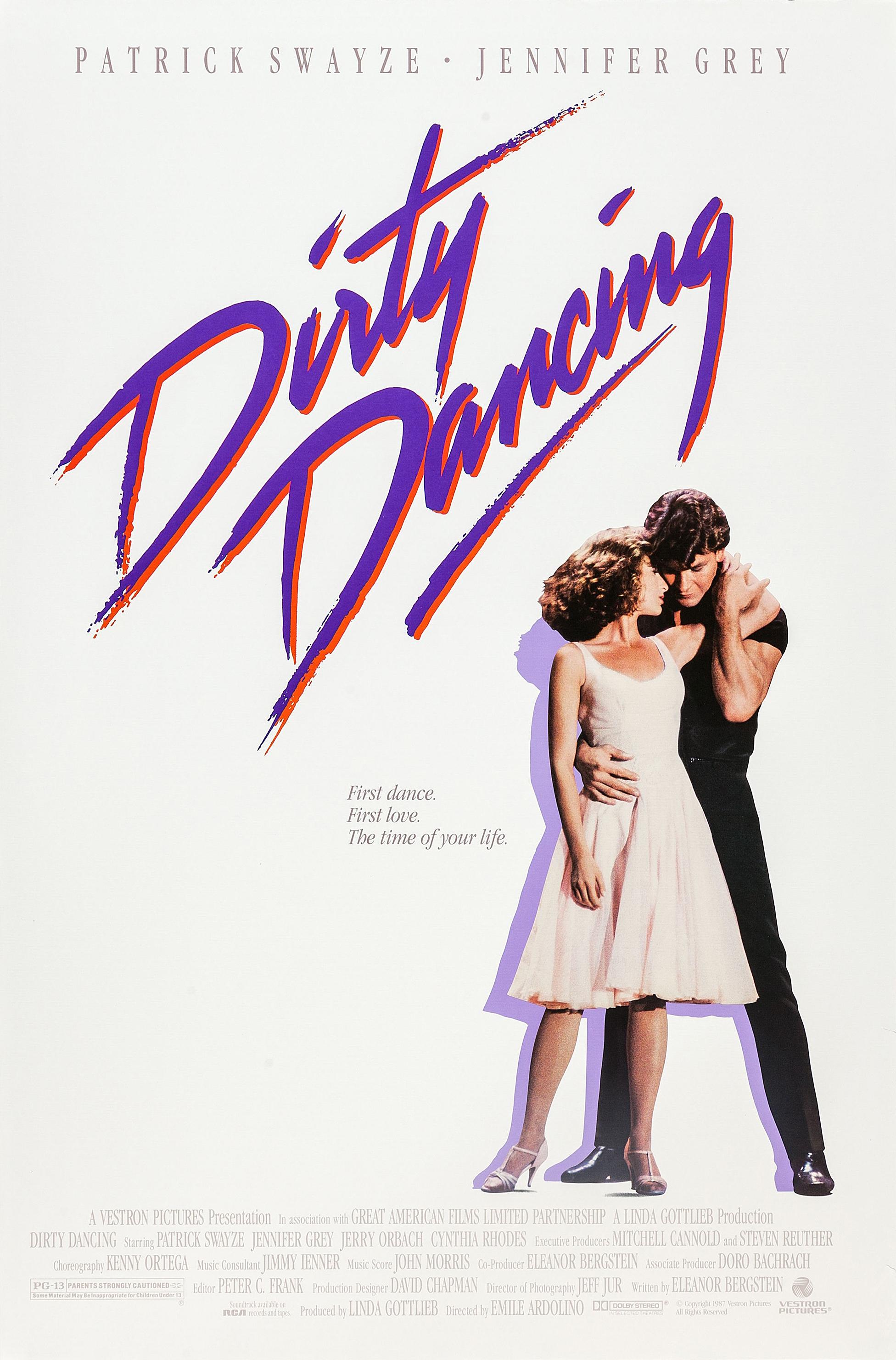 Patrick Swayze Jennifer Grey Dirty Dancing