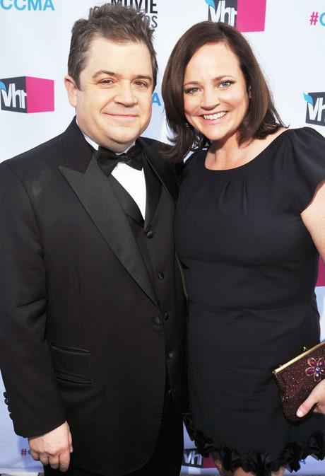Patton Oswalt and his late wife, Michelle McNamara