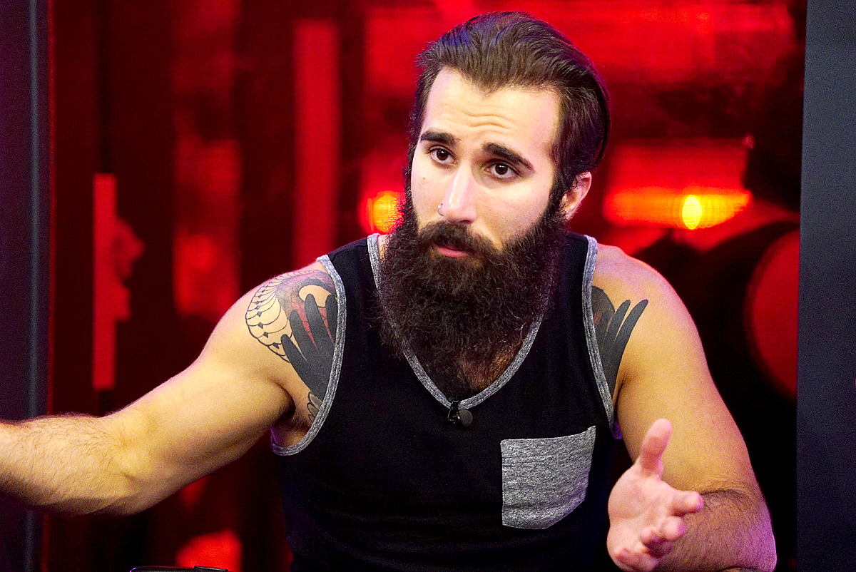Paul Abrahamian on Big Brother.