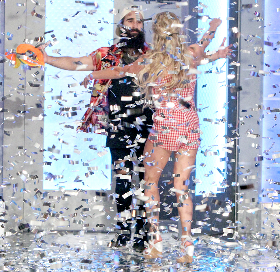 Paul Abrahamian is the second place winner on the Big Brother season 18 live finale.
