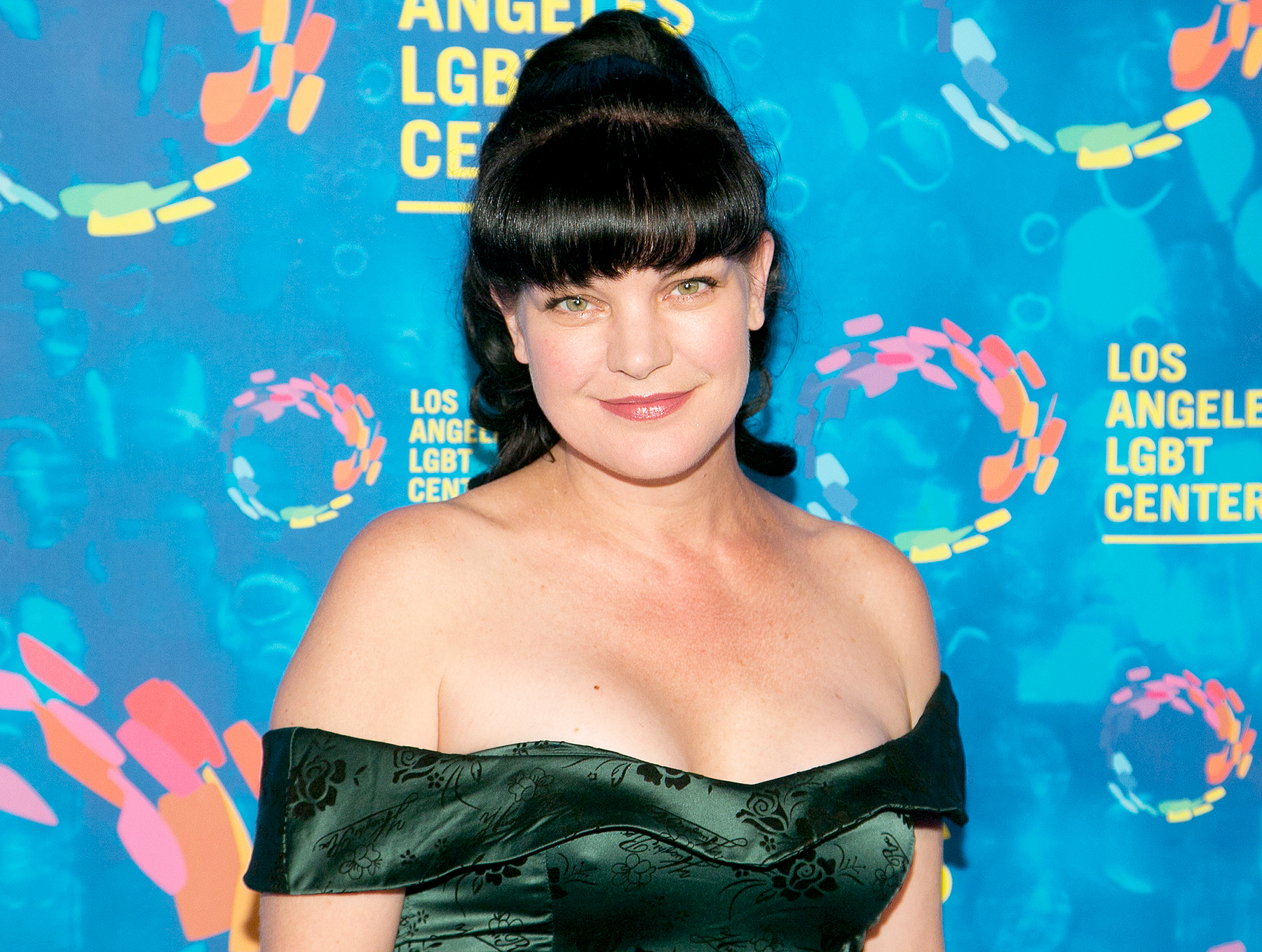 Pauley Perrette attends Los Angeles LGBT Center's 47th Anniversary Gala Vanguard Awards at Pacific Design Center on September 24, 2016 in West Hollywood, California.
