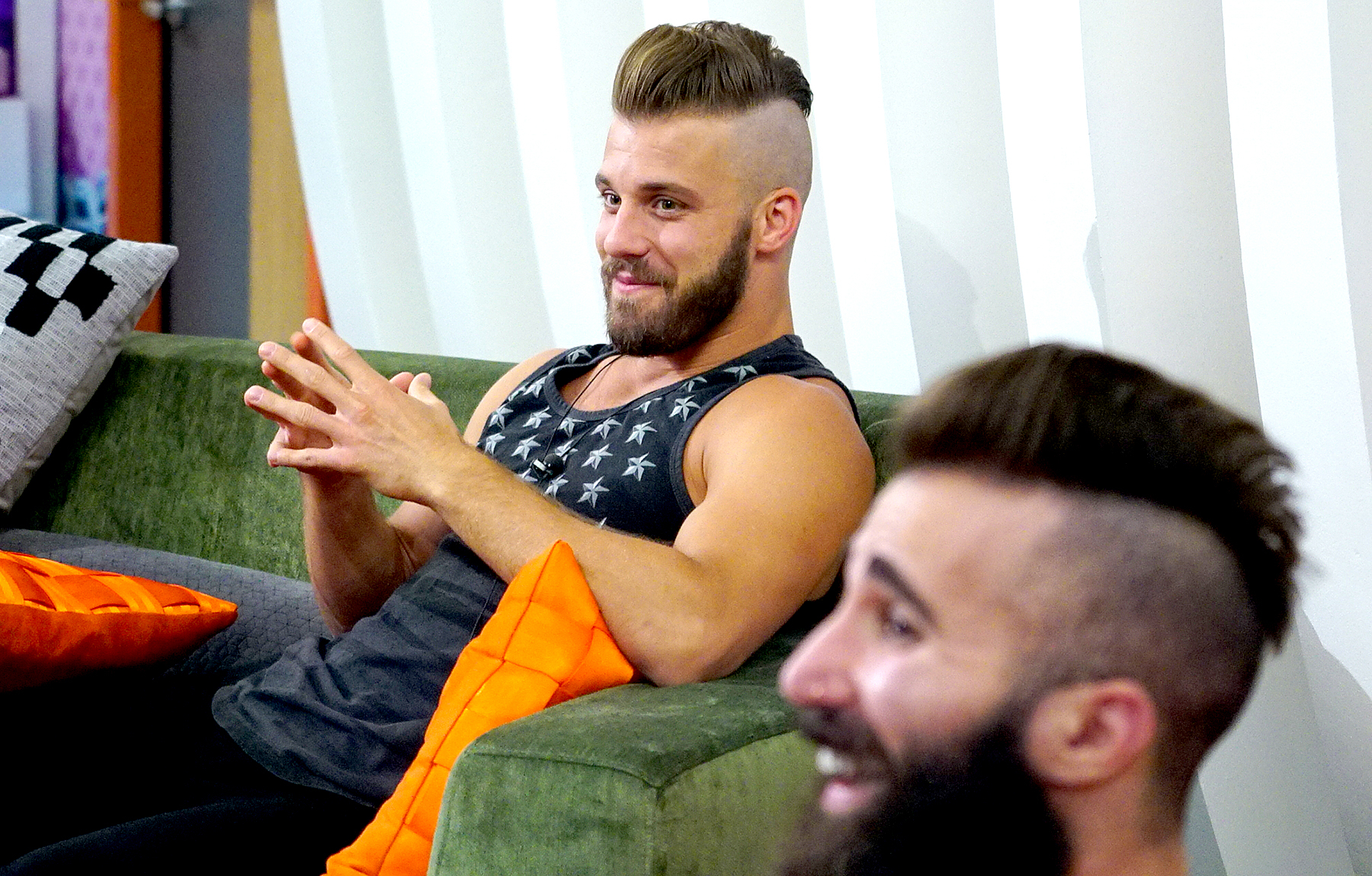 Paulie Calafiore and Paul Abrahamian on Big Brother.