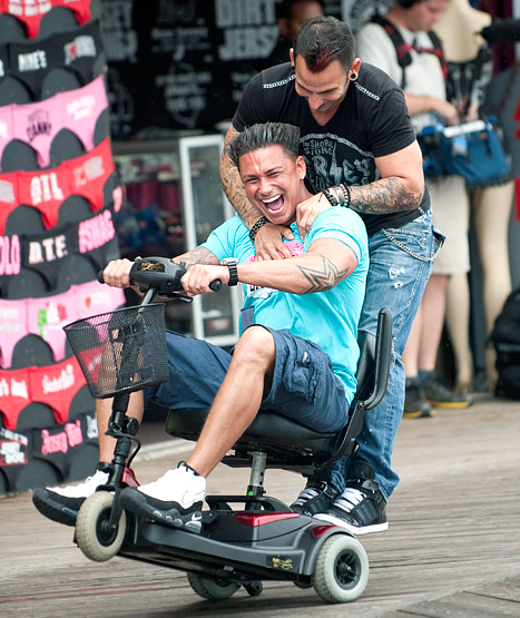 pauly d power chair