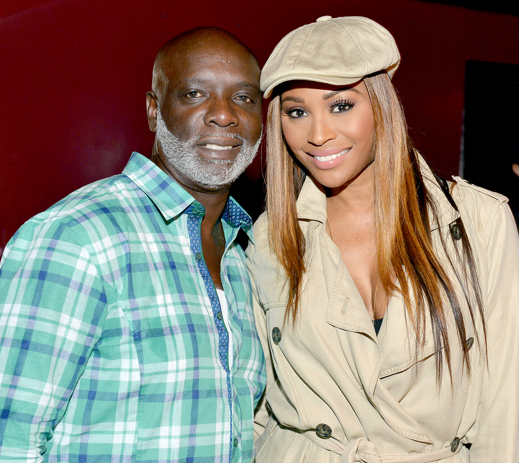 Peter Thomas and Cynthia Bailey attend