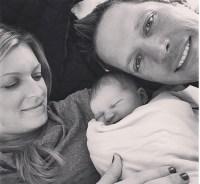Peyton and Chris Lambton Bachelor baby