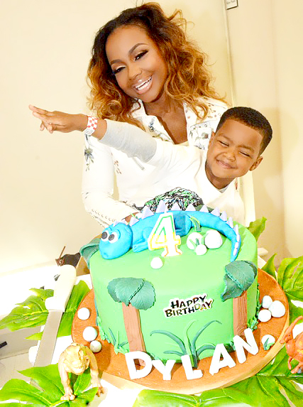 Phaedra Park and Dylan