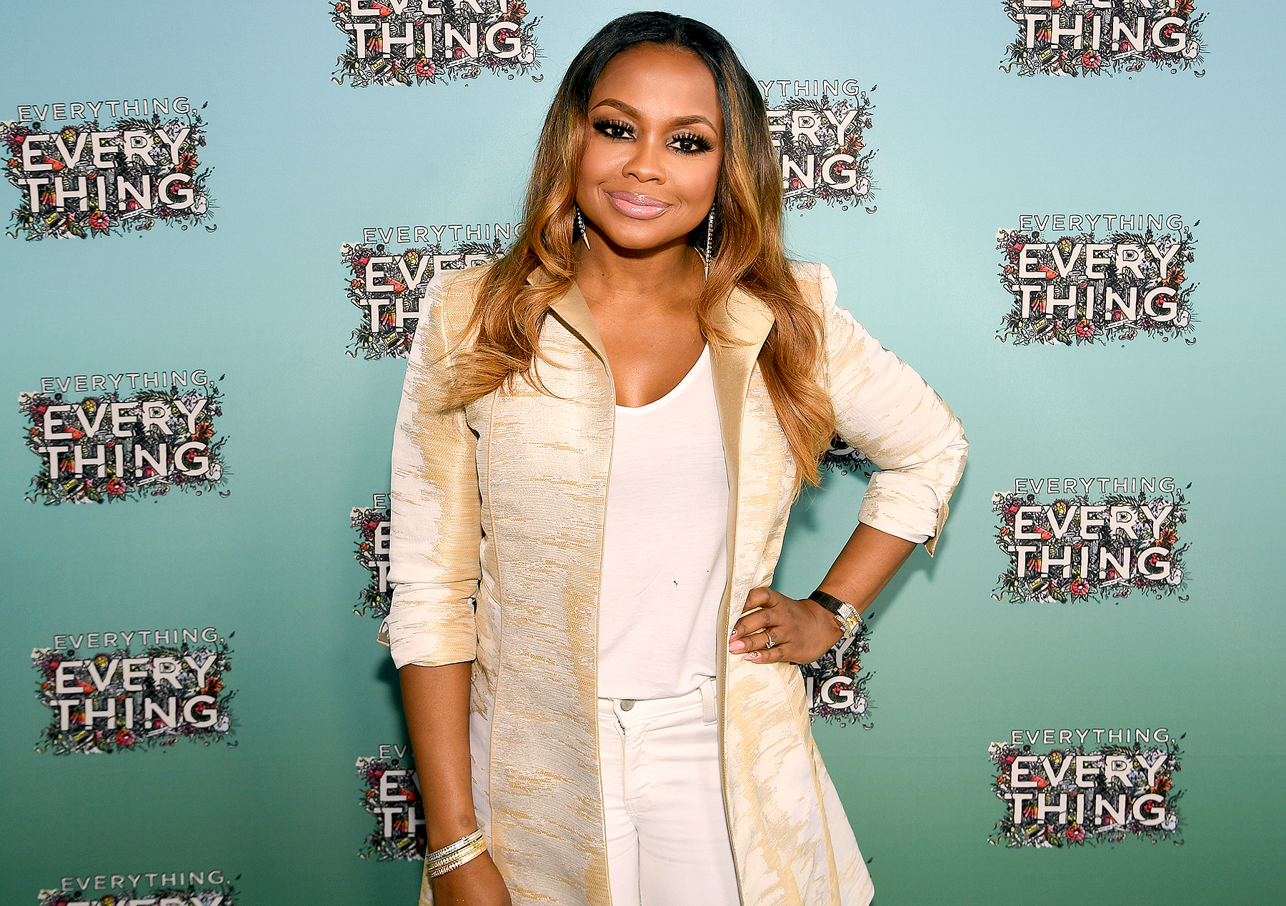 "Phaedra Parks attends ""Everything, Everything"" Screening and Brunch at W Hotel Atlanta Midtown on April 23, 2017 in Atlanta, Georgia."