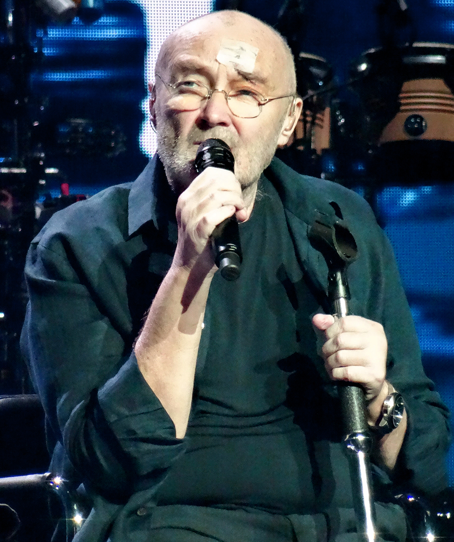Phil Collins in concert at Lanxess Arena, Cologne, Germany on June 11, 2017.