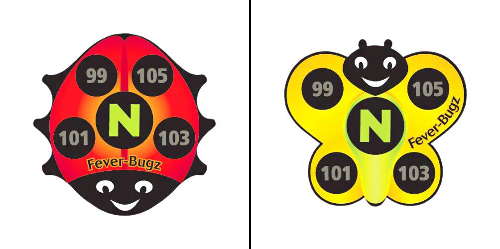 Physio Logic Fever Bugz Stickers