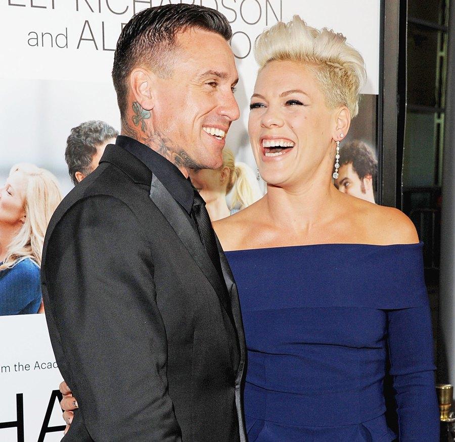 Carey Hart and Pink proposal