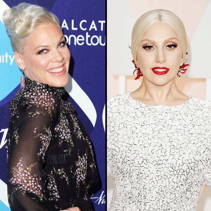 Pink Defends Lady GaGa Over Claim Shes Copying Her