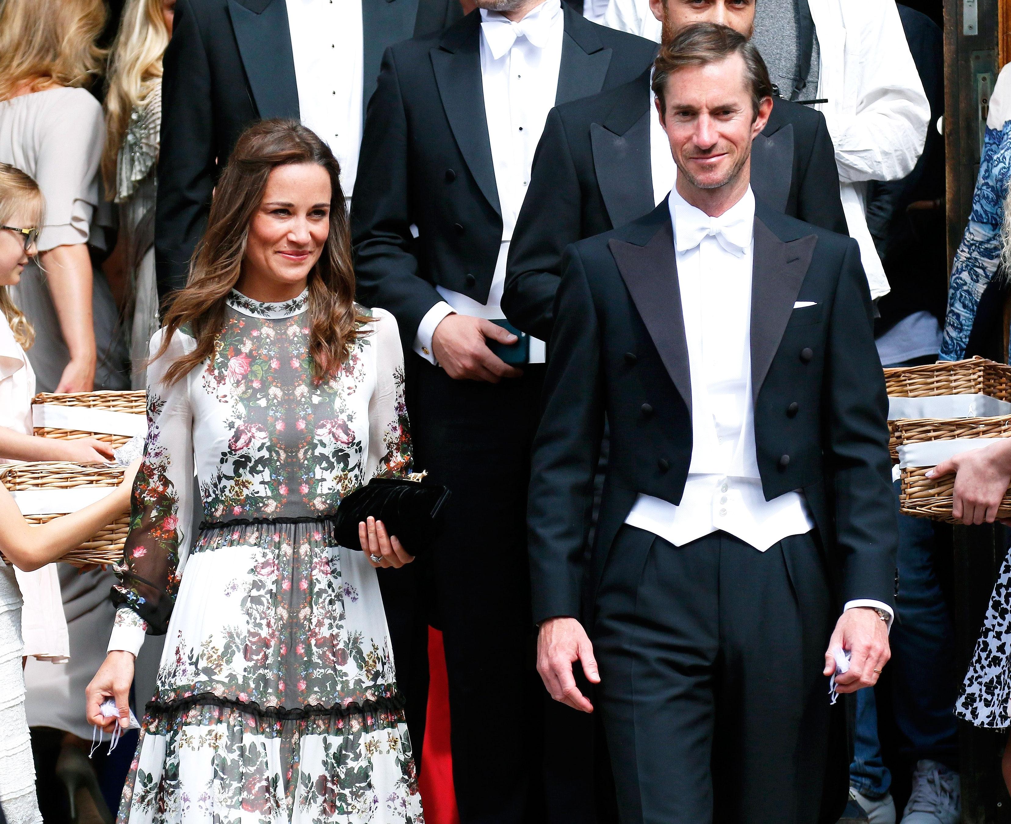 Pippa Middleton and husband James Matthews