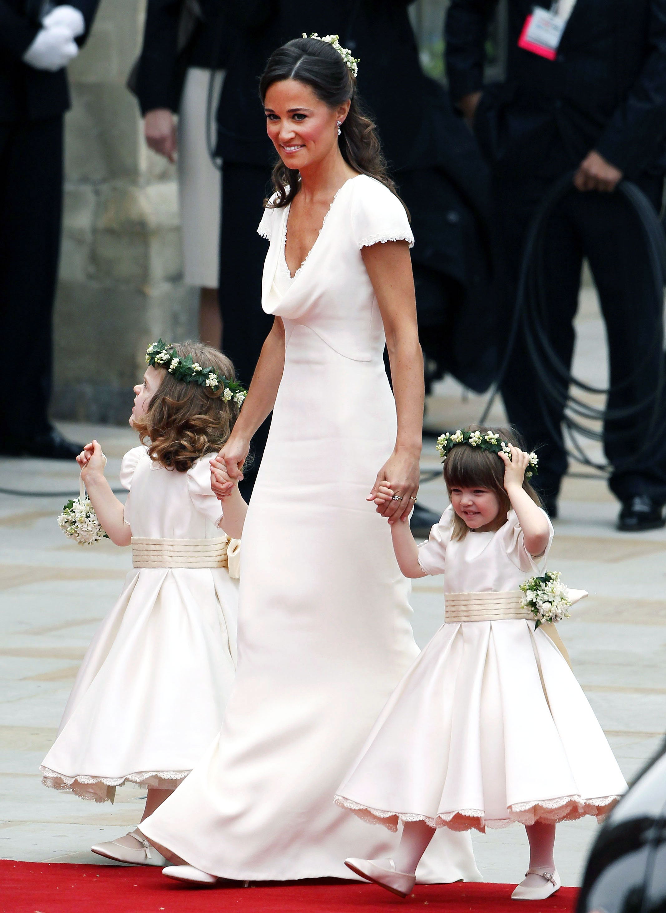 Pippa Middleton\'s Infamous Royal Wedding Bridesmaid Dress\' Look ...