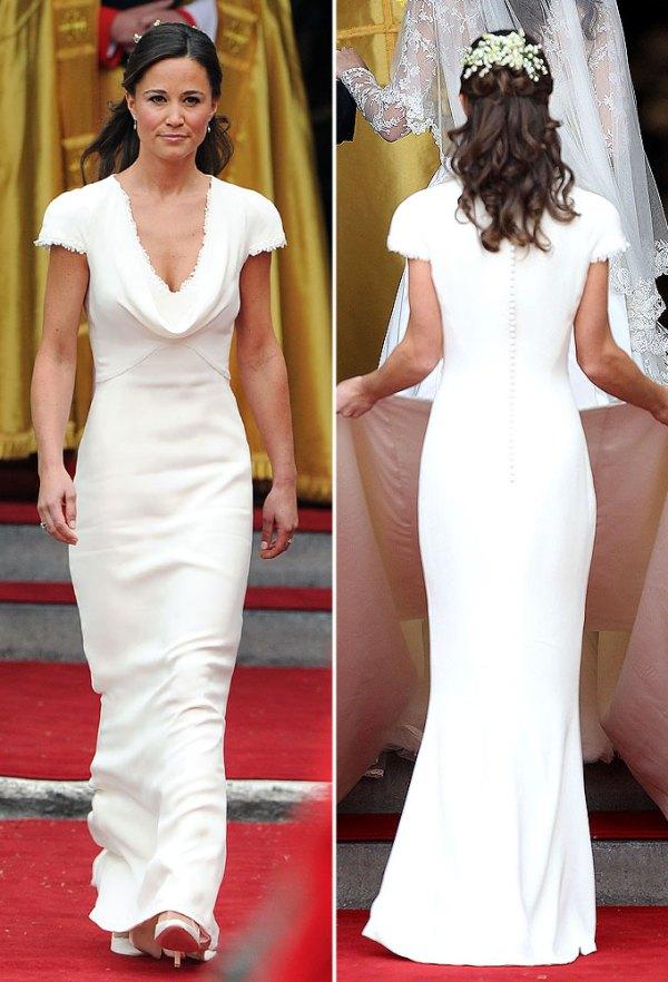 Pippa Middletons Royal Wedding Dress Replica Goes on Sale
