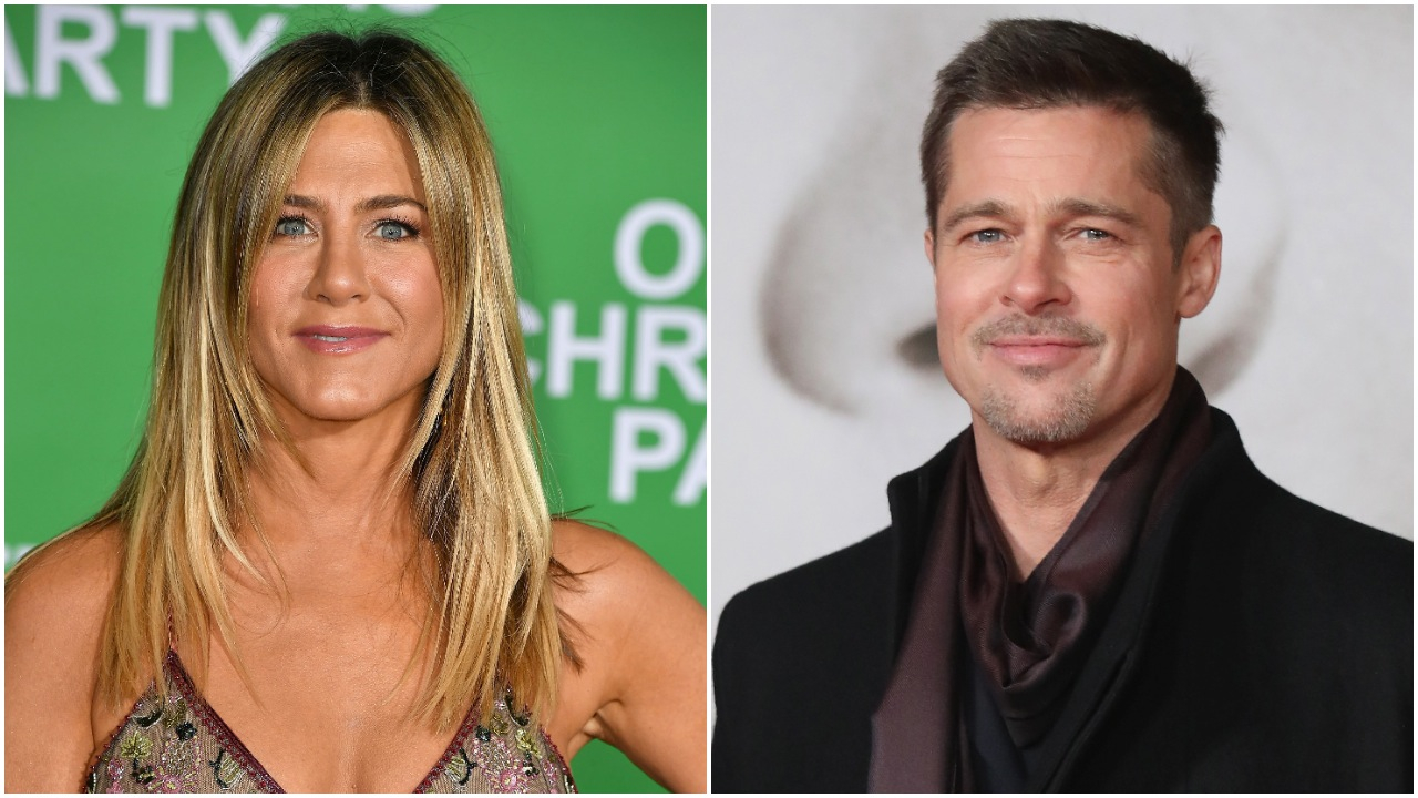 """Jennifer Aniston, Brad Pitt - More than a decade after their separation, Pitt and Aniston began texting each other , a source close to the Mother's Day star revealed to Us in March 2017. """"They started talking once he wished her a happy birthday,"""" the insider said at the time."""