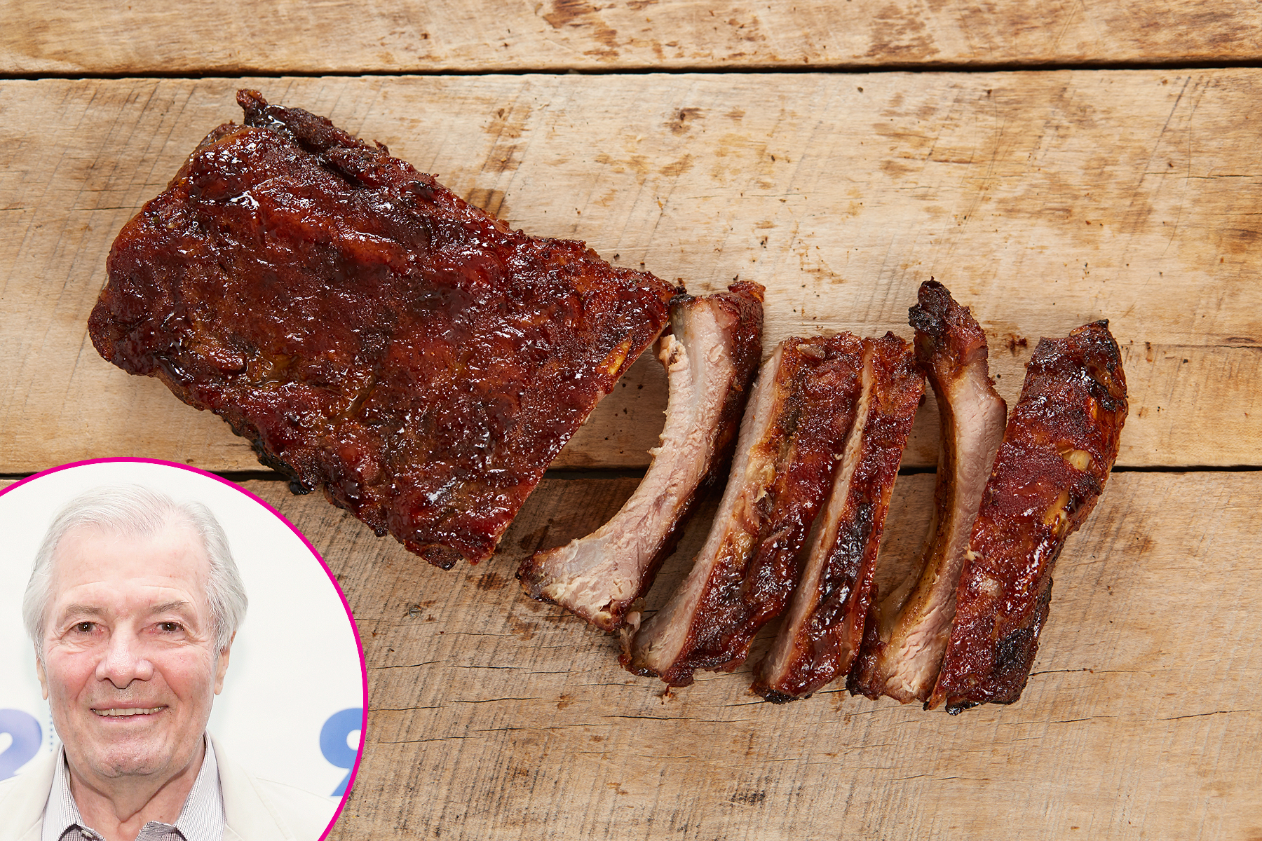 Roast Pork Loin Back Ribs