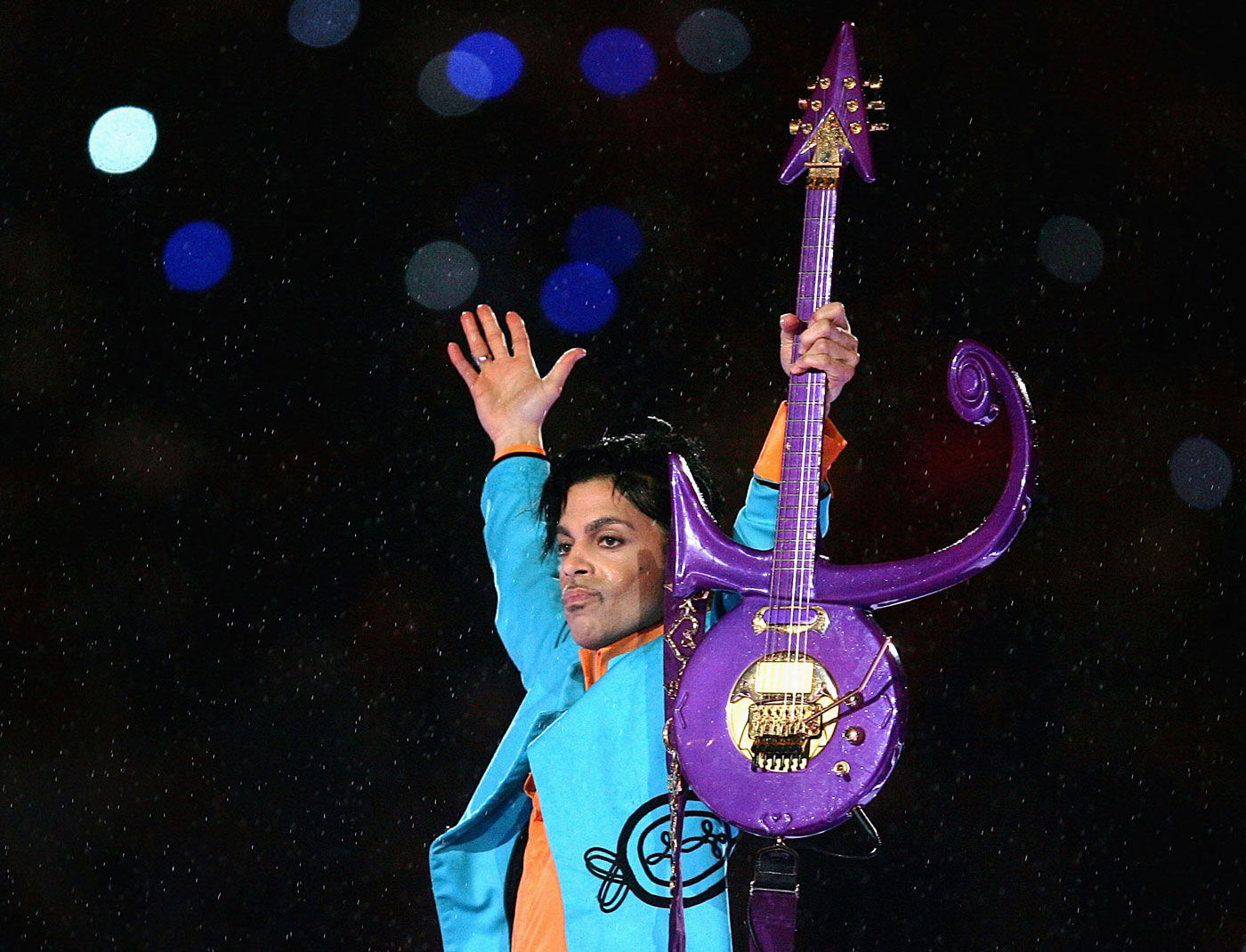 Prince was remembered on Broadway