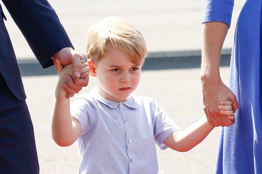 Prince George Berlin grumpy