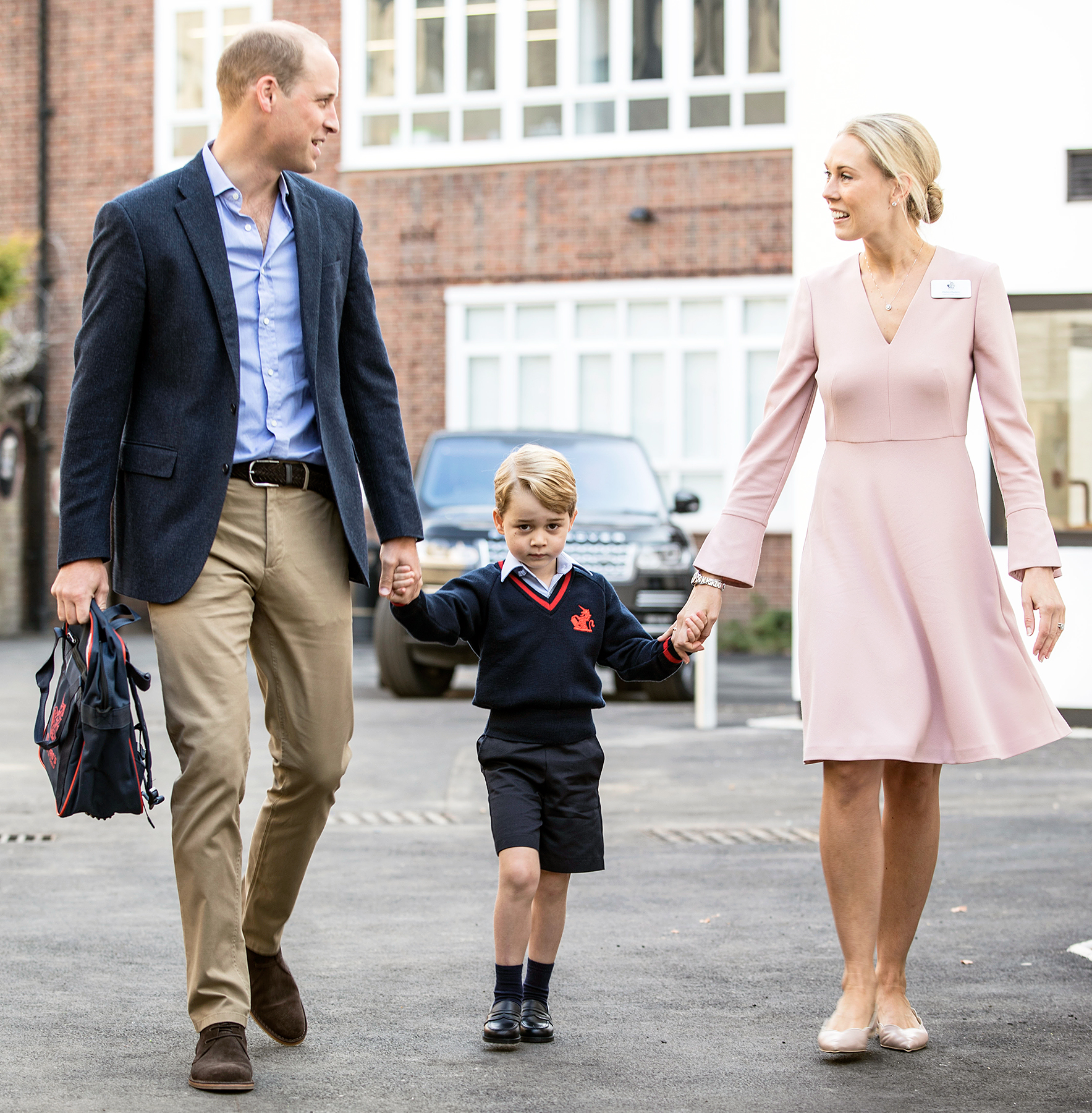 Prince William Prince George first day of school