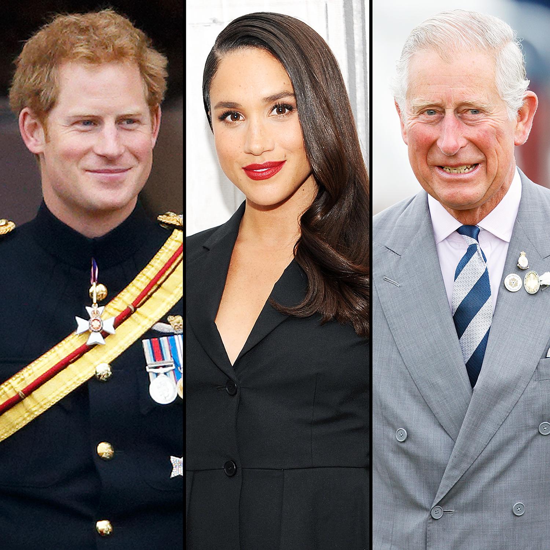 Prince Harry Meghan Markle Prince Charles