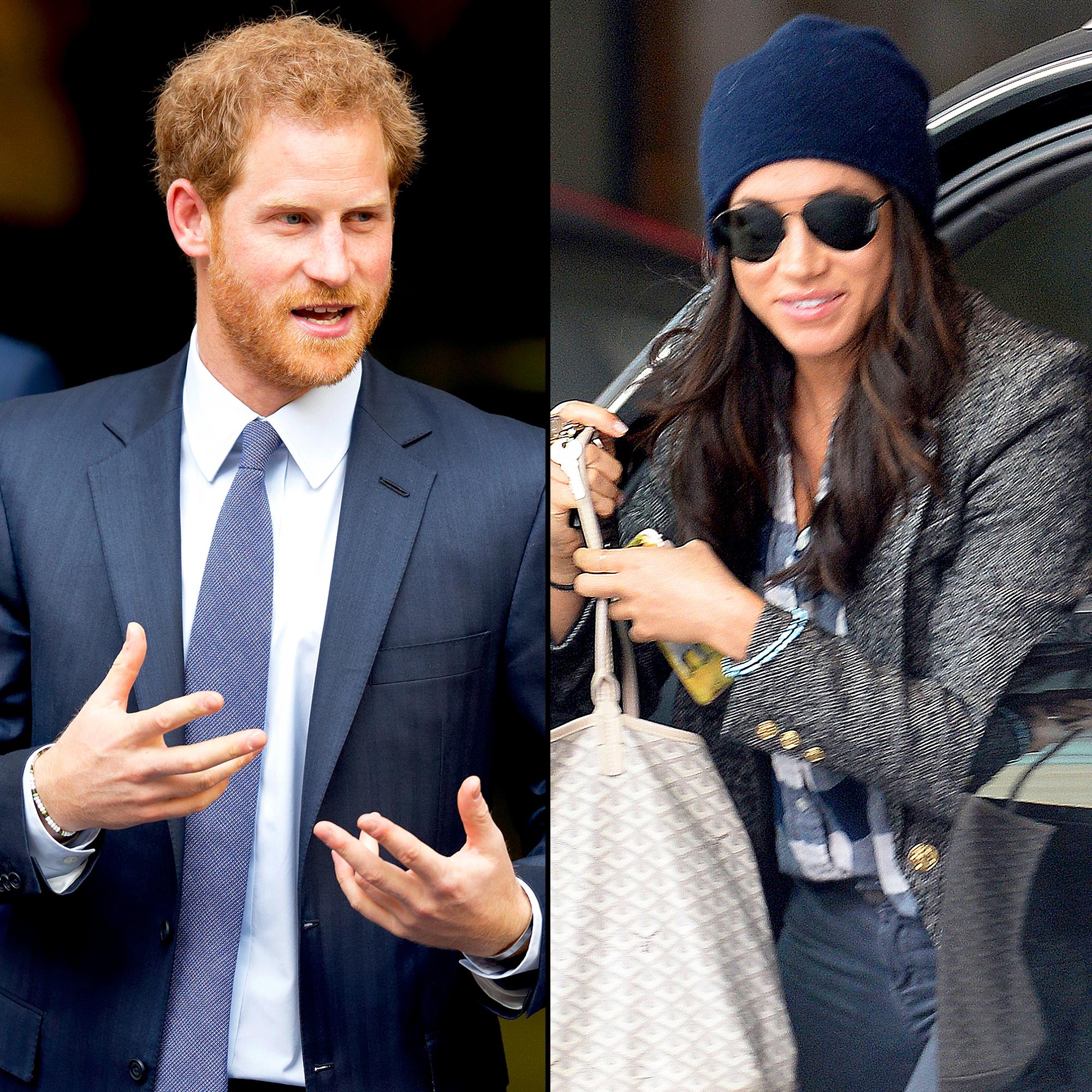 Prince Harry, Meghan Markle Wear Matching Bracelets Again