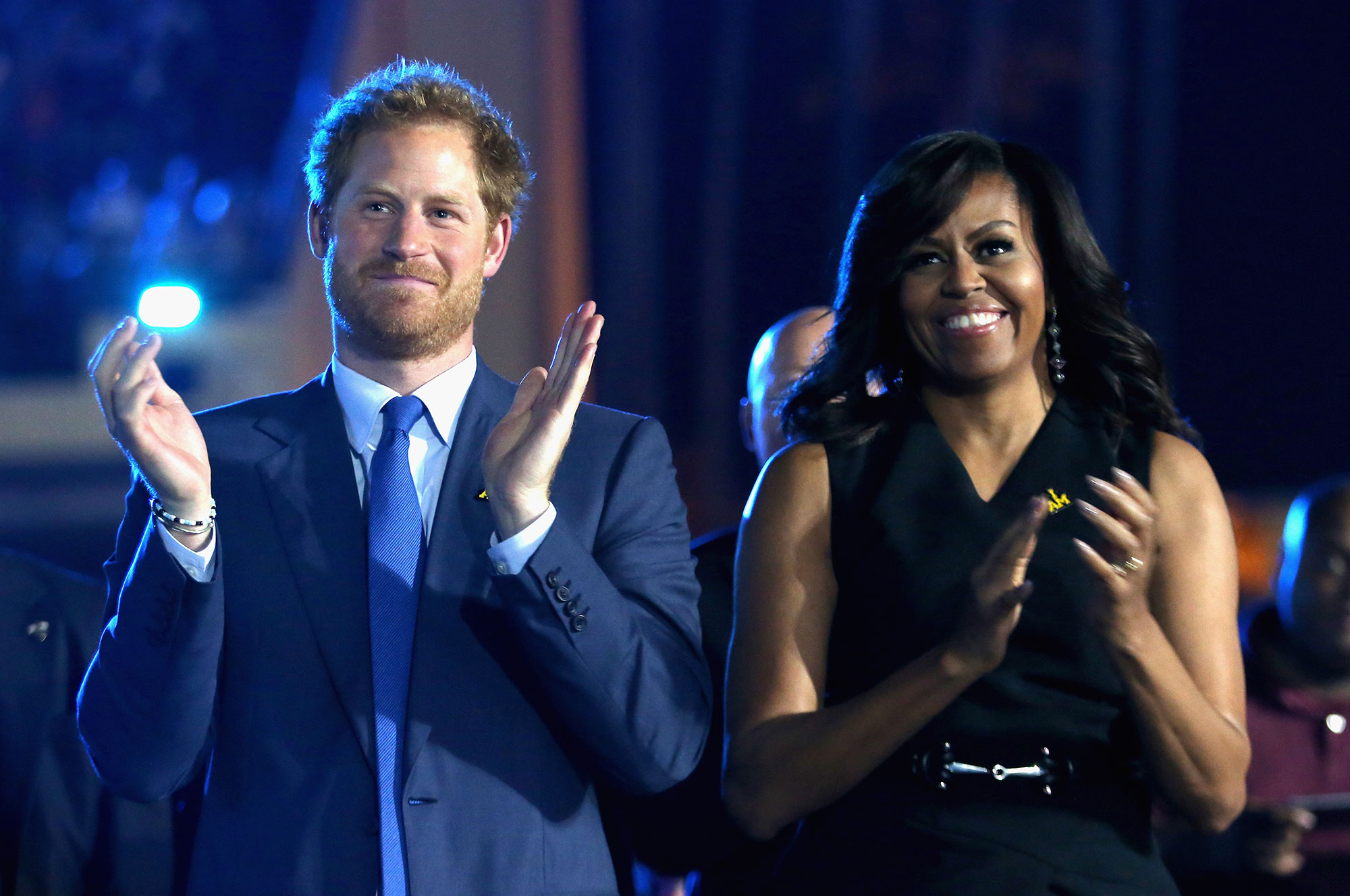 Prince Harry Michelle Obama