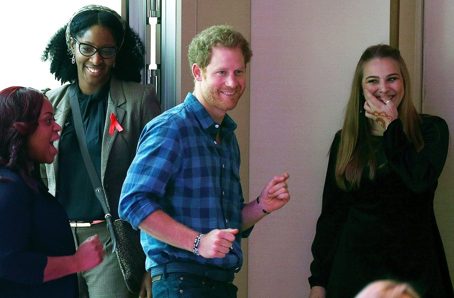 Prince Harry Promotes HIV Awareness During Charity Visit
