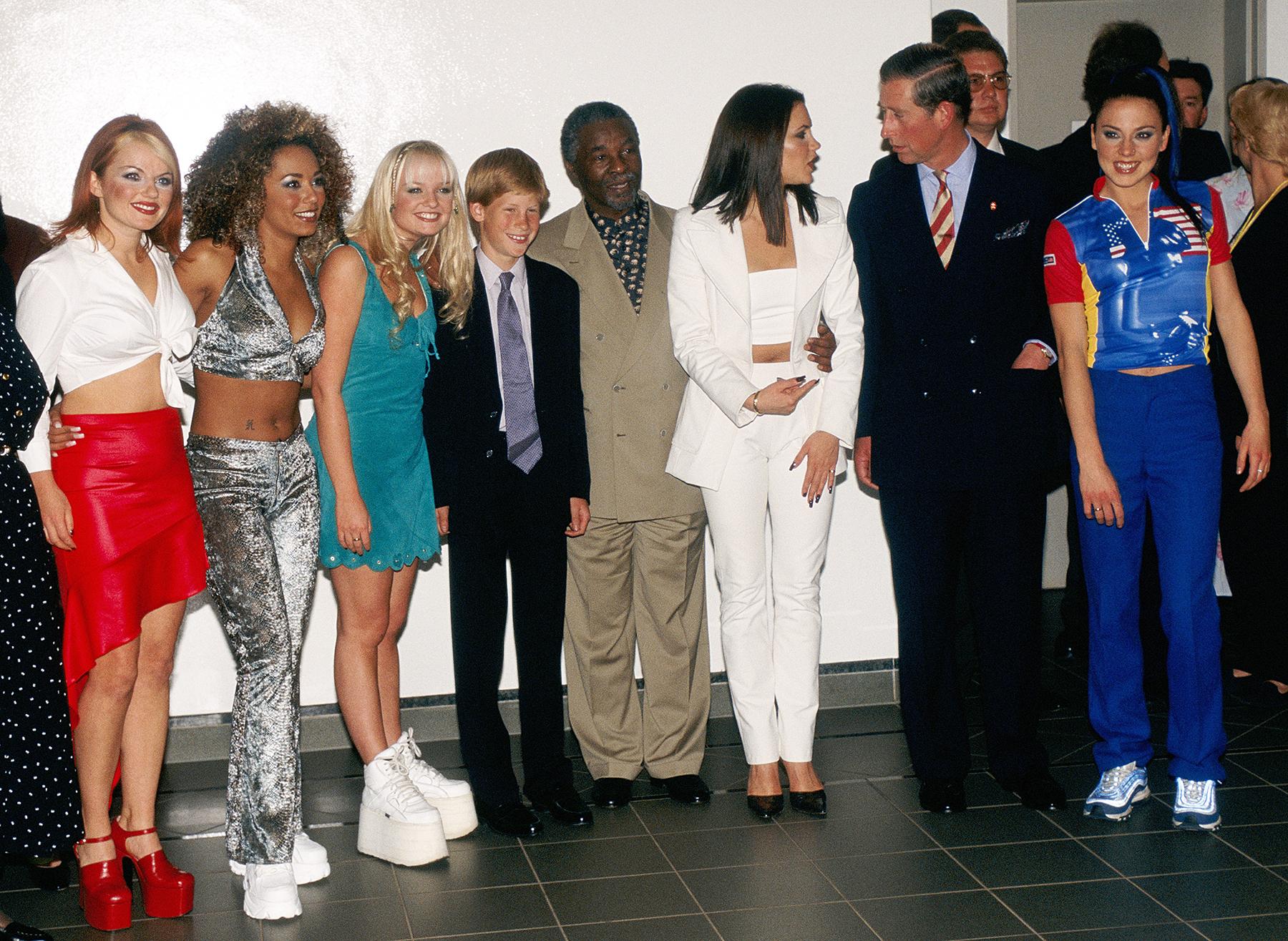 Spice Girls Prince Harry Prince Charles