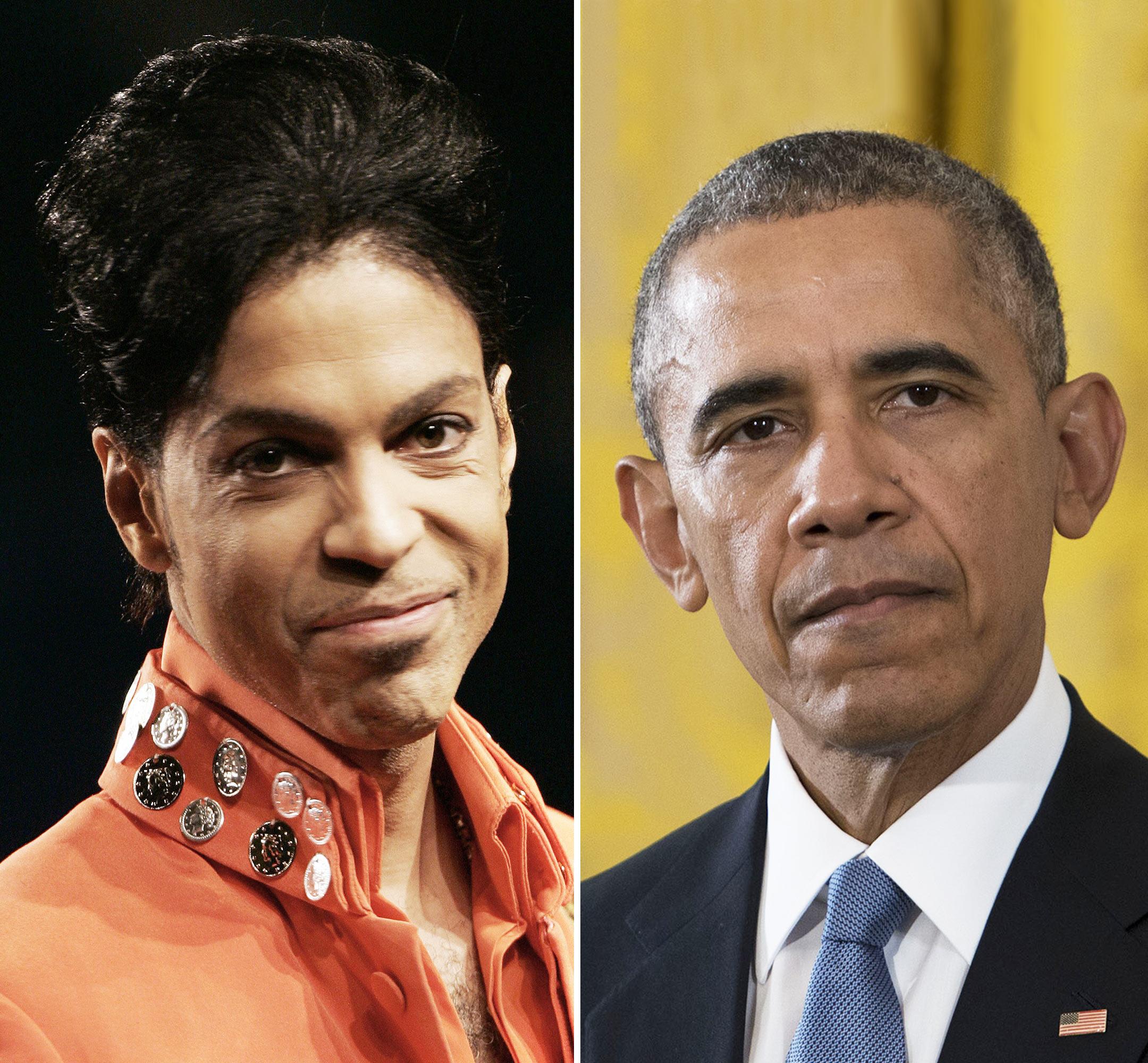 Barack Obama, Prince