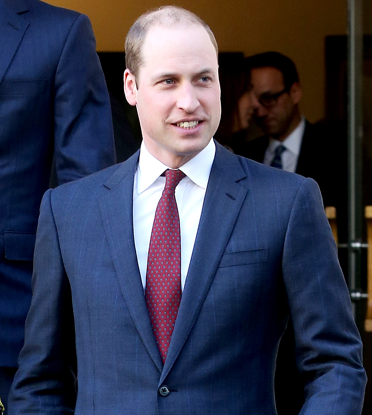 Prince William attends a briefing to announce plans for Heads Together ahead of the 2017 Virgin Money London Marathon at ICA on January 17, 2017 in London, England.