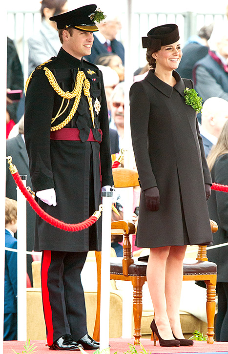 Prince William and Kate Middleton - St. Patrick's Day