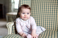 Princess Charlotte of Cambridge is seen at Anmer Hall earlier this month taken by Catherine, Duchess of Cambridge in Sandringham, England.