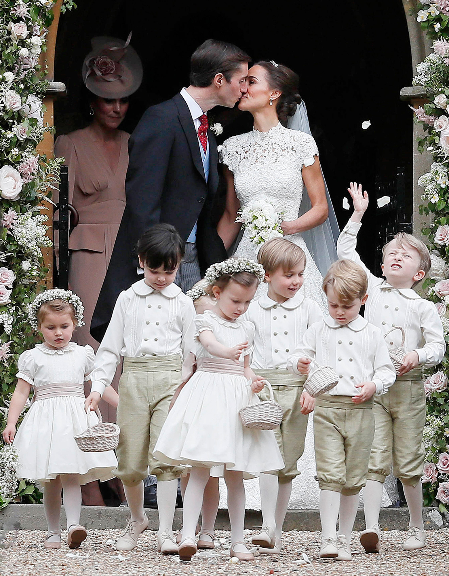 George Charlotte Steal The Show At Pippa Middletons Wedding
