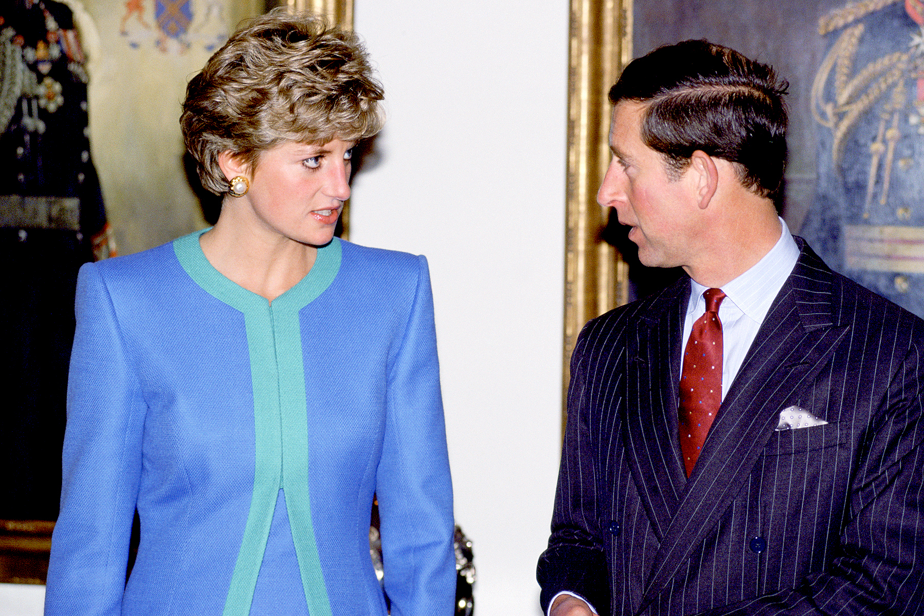 Princess Diana and Prince Charles during a visit to Ottawa, Canada in 1991.