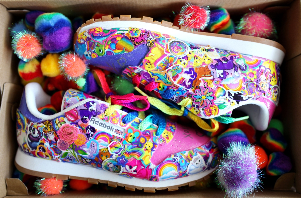 2ed027a62211 Lisa Frank Teamed With Reebok on Sneakers That ll Make Your  90s Nostalgia  Run Wild