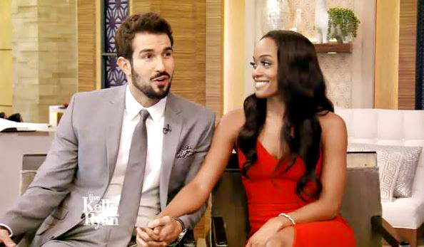 Rachel Lindsay and Bryan Abasolo Live with Kelly and Ryan