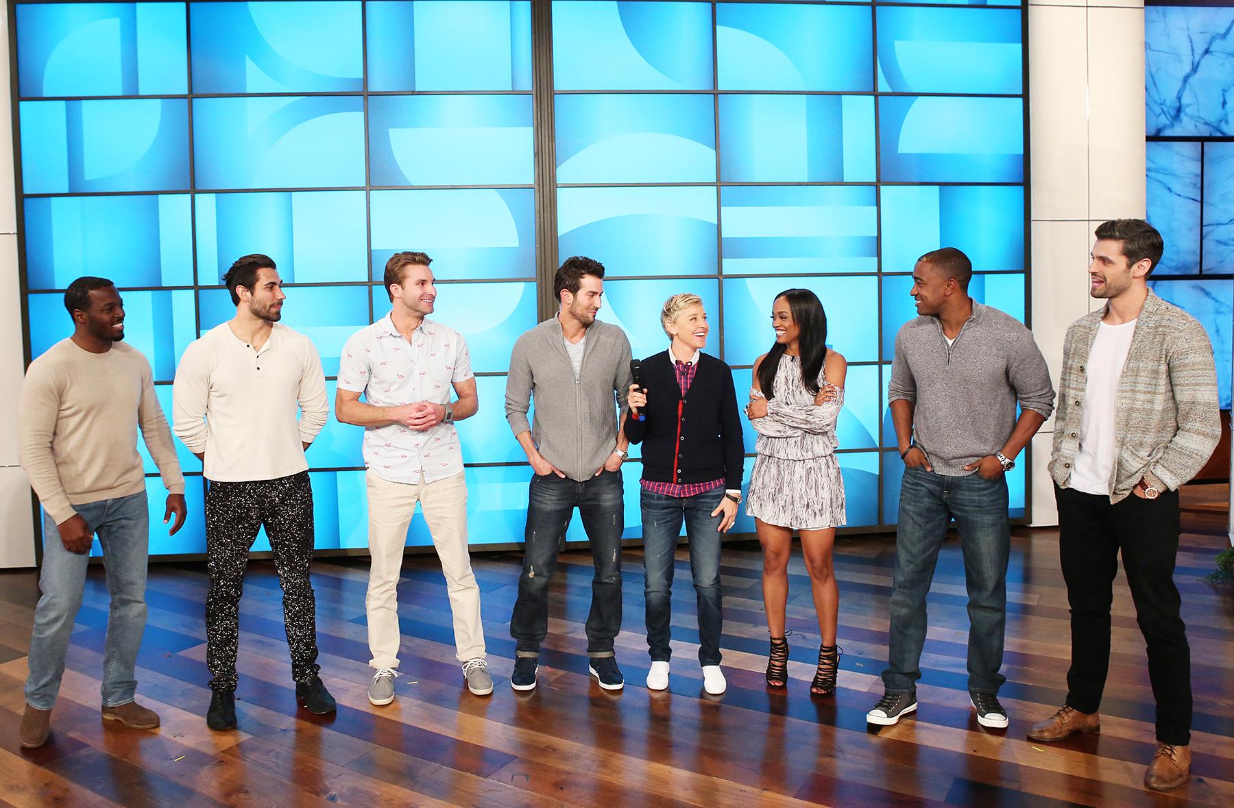 Rachel Lindsay Ellen DeGeneres group date The Bachelorette