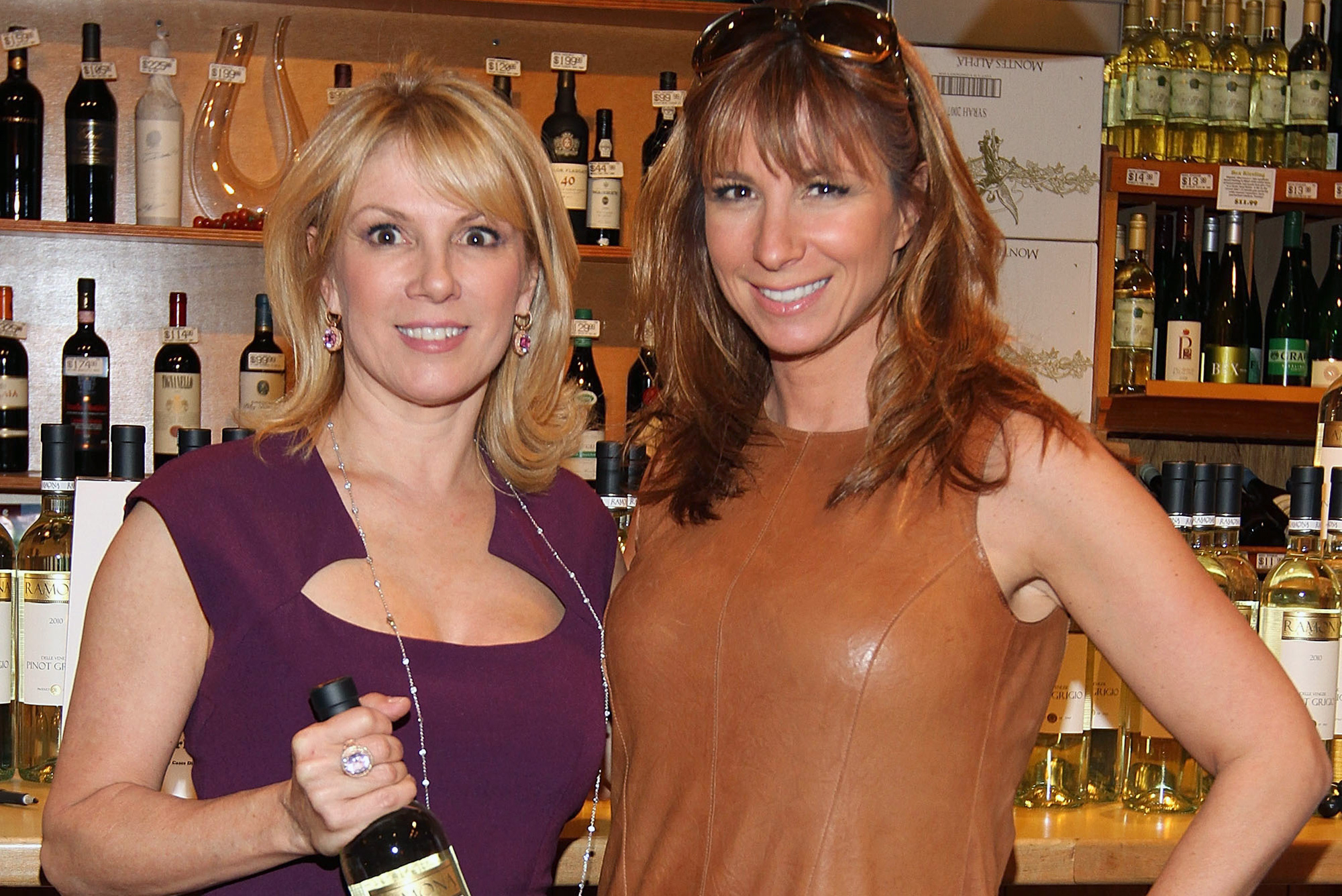 Ramona Singer and Jill Zarin