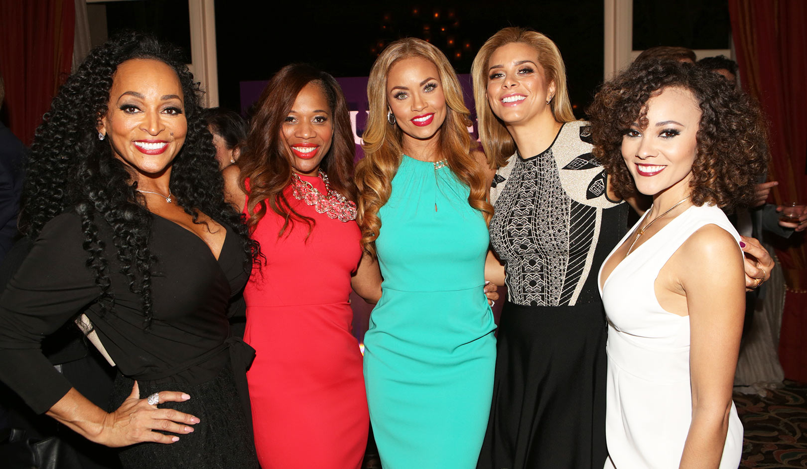 Karen Huger, Charrisse Jackson Jordan, Gizelle Bryant, Robyn Dixon, Ashley Darby, The Real Housewives of Potomac