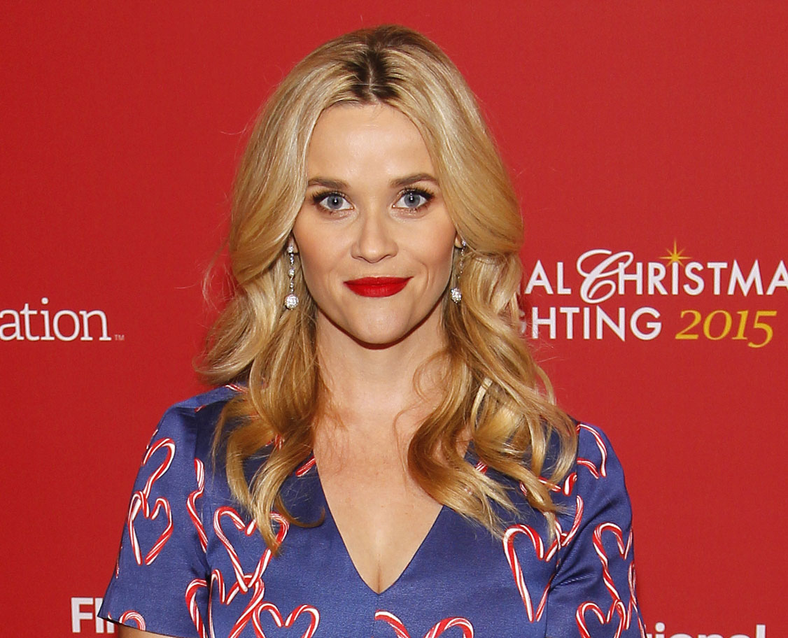 Reese Witherspoon, seen here at Washington's Christmas tree lighting, is supporting more diversity in the Oscars