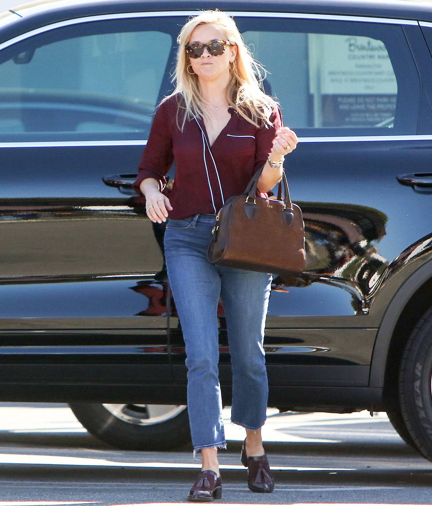Reese Witherspoon is seen on October 20, 2016 in Los Angeles, California.